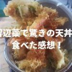 留辺蘂で驚きの天丼!【加根志め(かねしめ)食堂】で食べた感想!